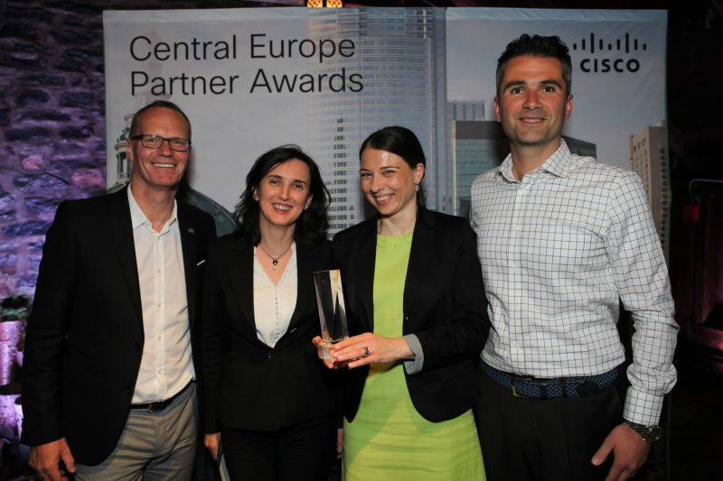 Soitron Recognized with Award at Cisco Partner Summit 2015