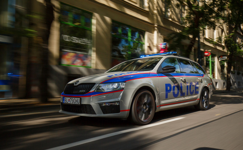 INTELLIGENT POLICE CAR THAT BROUGHT POLICE INTO THE 21ST CENTURY
